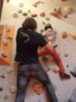 Klettergeburtstag | Kindergeburtstag in der Kletterhalle in München