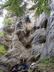Kletterreise Schwaebische Alb | Klettertraining am Fels - Schwaebische Alb