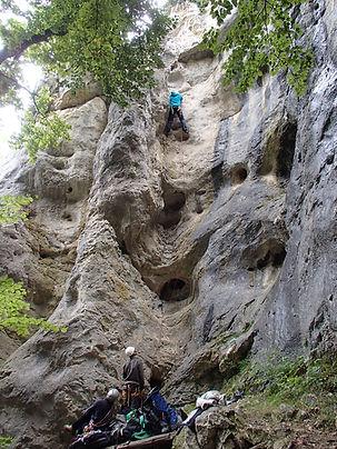 Kletterreise Schwäbische Alb  Klettertraining am Fels - Schwäbische Alb