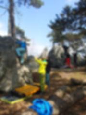 Boulderkurs am Fels | Bouldern am Fels