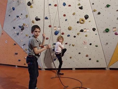 Klettertraining für Kinder in München