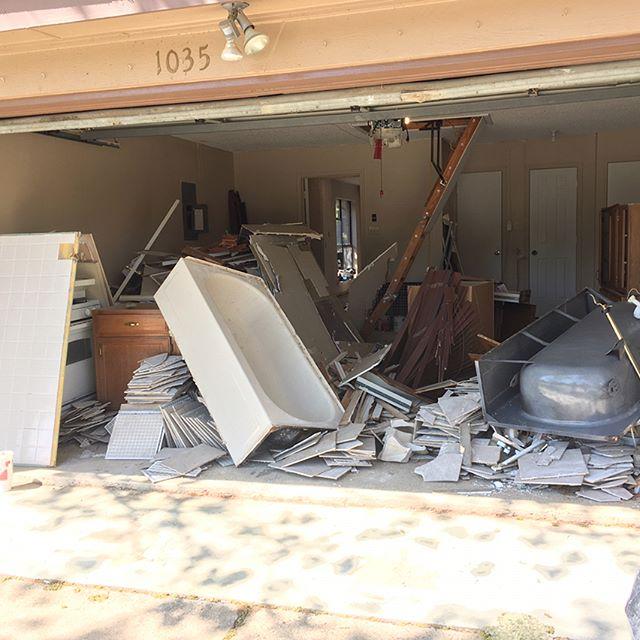 #beforeandafter #construction #debris #fortworth #texas 817-601-JUNK