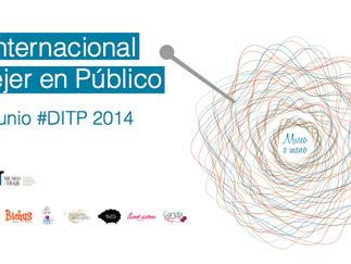 MUSEO DEL TRAJE: día internacional de Tejer en Público - 2014
