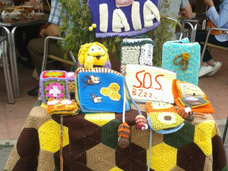 SOS Abejas en la Feria del libro de Moralzarzal