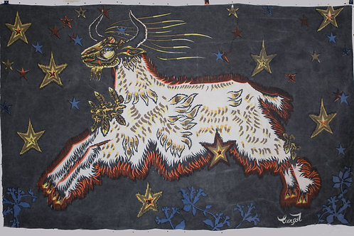"""FRENCH TAPESTRY JEAN LURCAT """"les Etoiles """""""