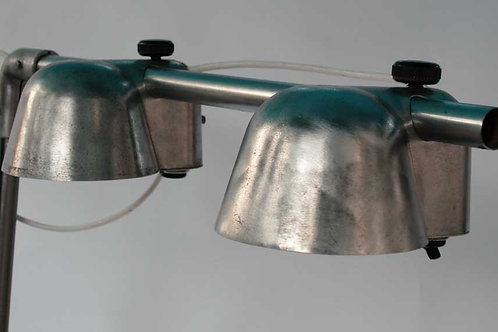 FRENCH INDUSTRIAL  MODERNIST FACTORY  LAMP INDUSTRIEL