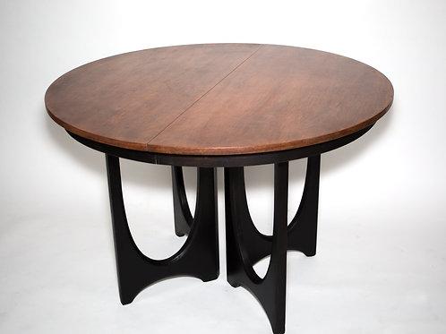 AMERICAN mid century ROUND TABLE Broyhill Brasilia Oscar Niemeyer