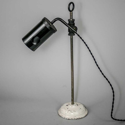 FRENCH ART DECO MEDICAL LIGHT ophthalmologist