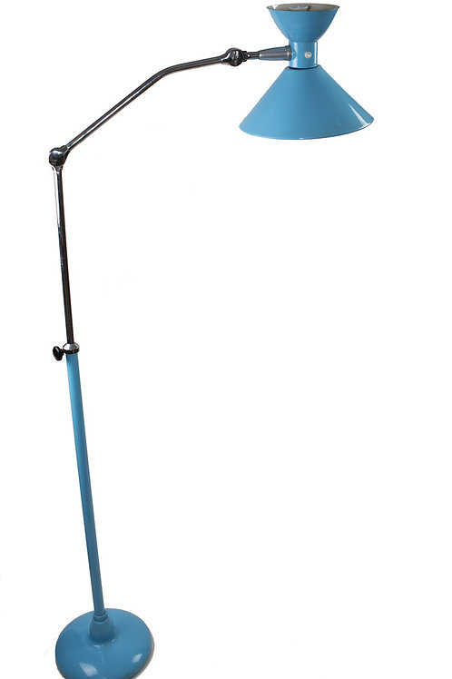 FRENCH MODERNIST FLOOR LAMP JUMO PERRIAND ADNET GUARICHE Diabolo mid century