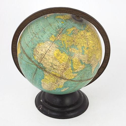 Cram terrestrial globe 10  inches 1930