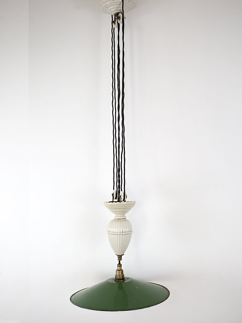 Pull down Kitchen/dining room light French Art Deco