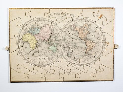 Barbie du Bocage dissected Atlas puzzle Maison Basset 19th Century box set