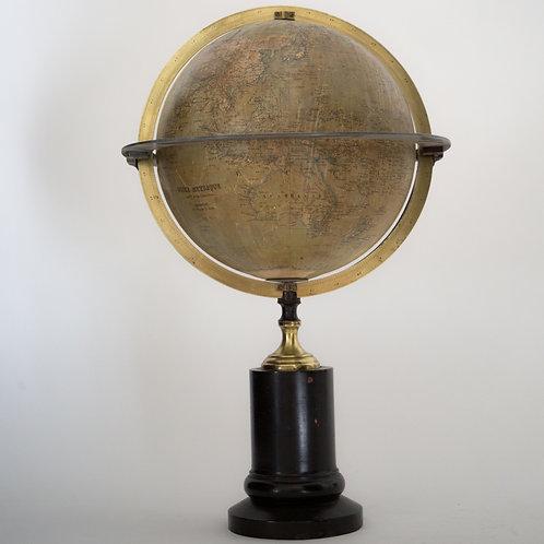 Delamarche Grosselin French terrestrial globe 1854