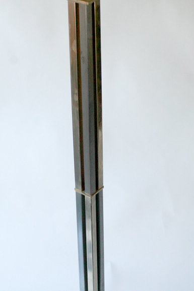 FRENCH ART DECO modernist FLOOR LAMP ADNET manner
