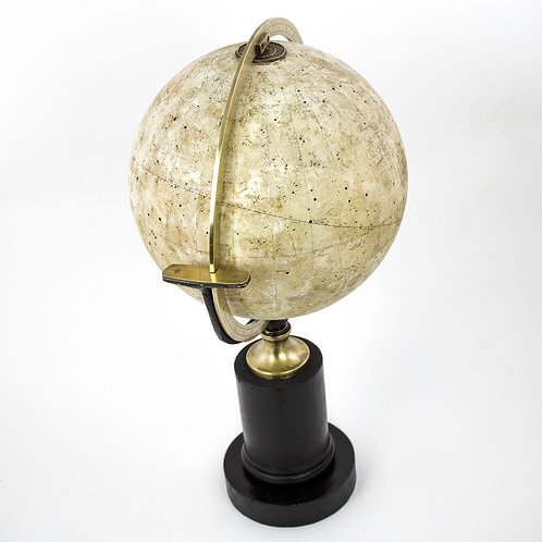 "1840 Charles Dien French antique celestial globe 10 "" cooper engraving"