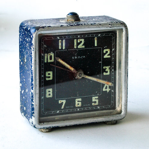 Art deco Ebosa alarm clock