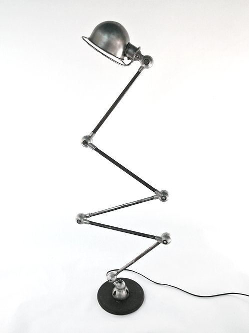 FRENCH INDUSTRIAL JIELDE MODERNIST LAMP DOMECQ FLOOR LAMP 5 Arms