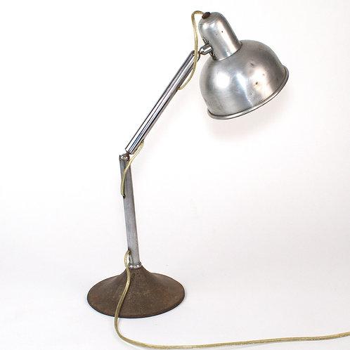 Mid century INDUSTRIAL DESK LAMP CHRISTIAN DELL KAISER