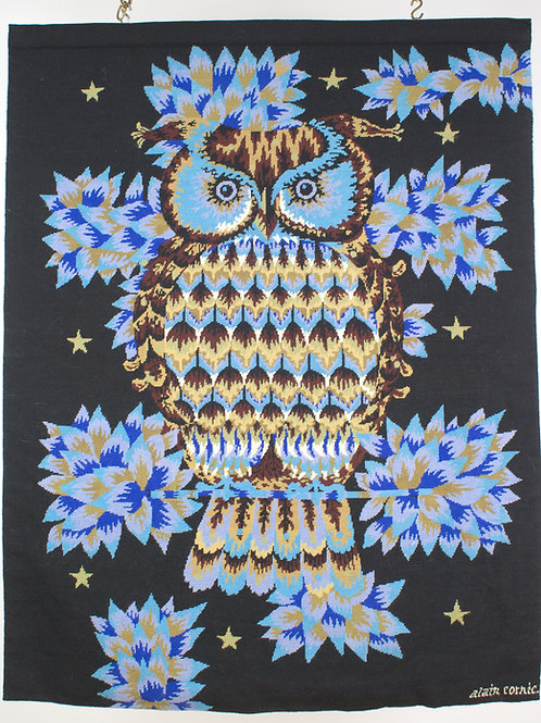 Alain Cornic petit point tapestry Robert Four Aubusson