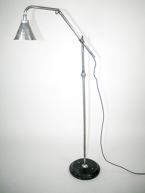 FRENCH INDUSTRIAL MODERNIST LAMP KI-KLAIR FLOOR LAMP garage