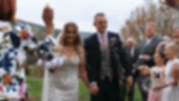 confetti shot, wedding venue brecon, brecon wedding videographer, cardiff wedding videographer