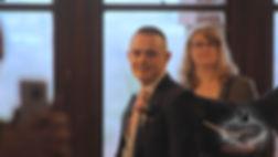 groom reactio, wedding videographer south wales
