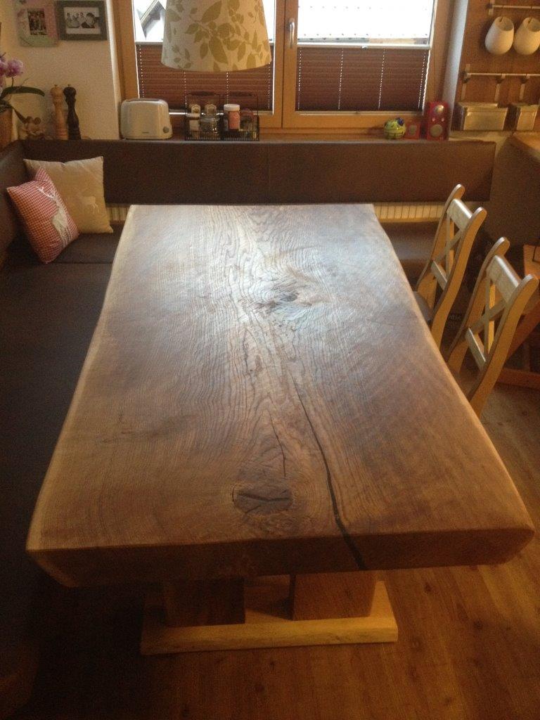Eiche Tisch XXL natur