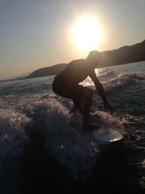 Wakesurfing mit waver