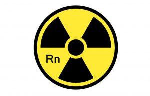 Radioaktives Edelgas Radon