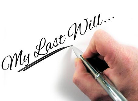 Is a Handwritten Will Okay?