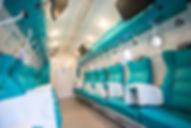 interiér hyperbarickej komory