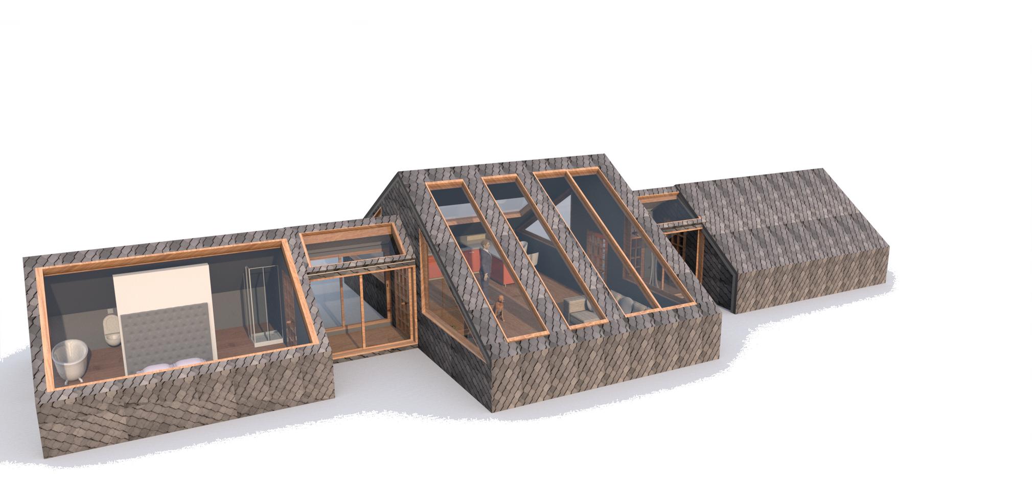 3 A-FRAME HOUSE
