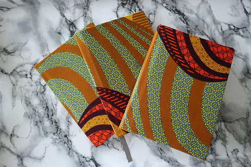 African Ankara Notebooks