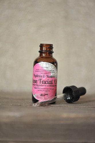 Rose Facial Oil