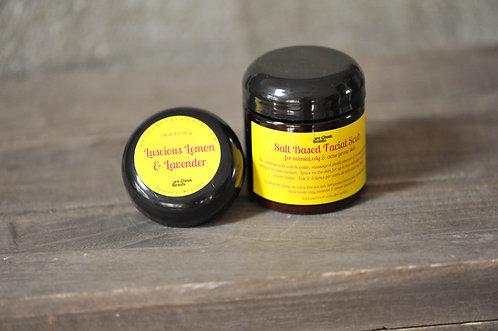 Luscious Lemon & Lavender Facial Scrub