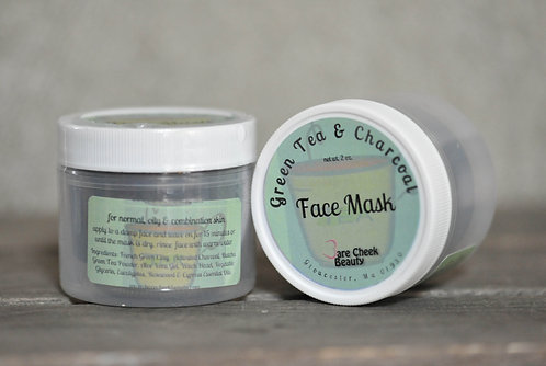 Green Tea & Charcoal Face Mask