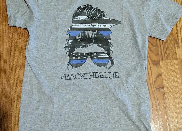 Back the Blue Sunglasses Unisex Tee