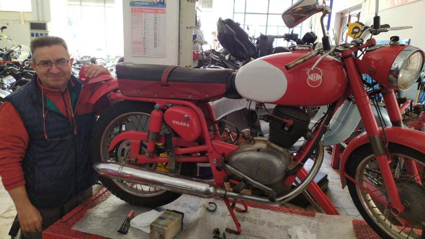Restauro Moto E Vespe D'epoca Catania Ct Motofficina Ingallina 54