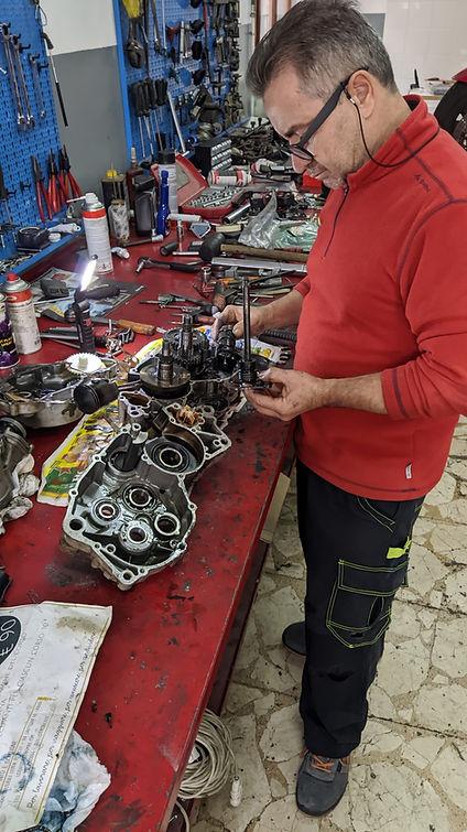 Antonello Ingallina pilota diMotocross edEnduro.