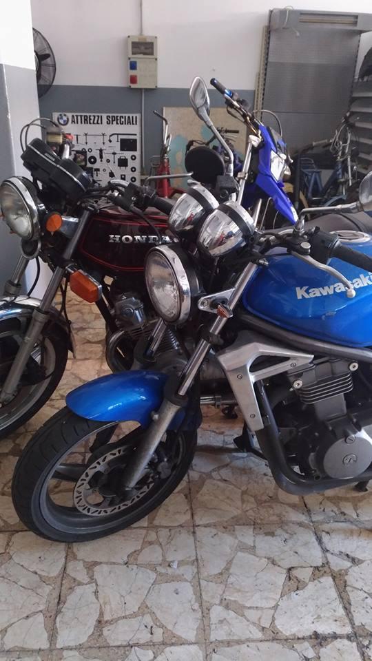 Restauro Honda Motofficina Ct