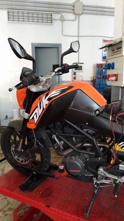 Riparazione Duke Motofficina Ct
