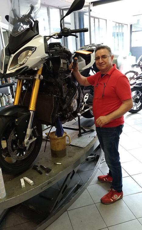 Motofficina Ingallina 54 Moto Gs1200 QDE