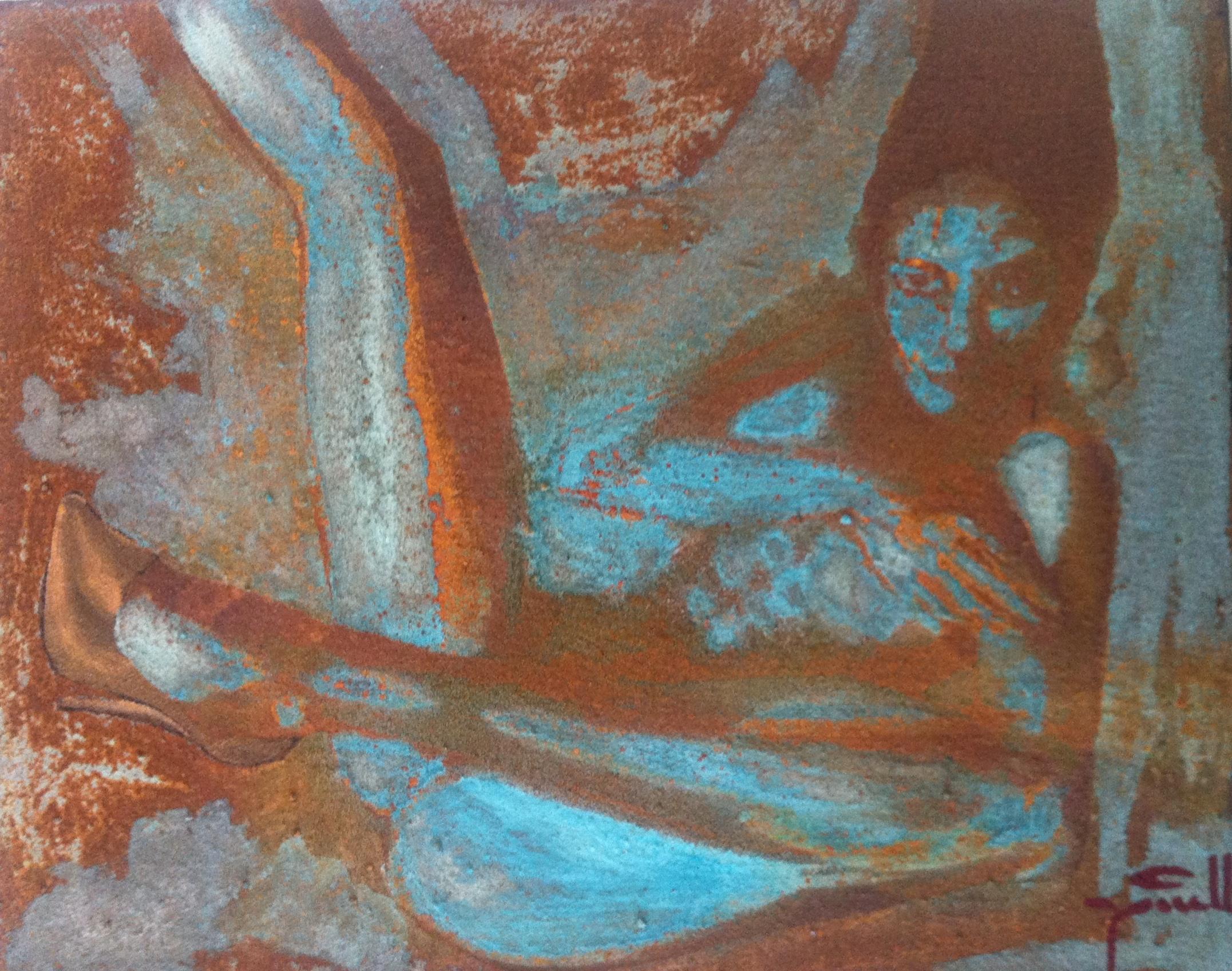 Rust Nude 8