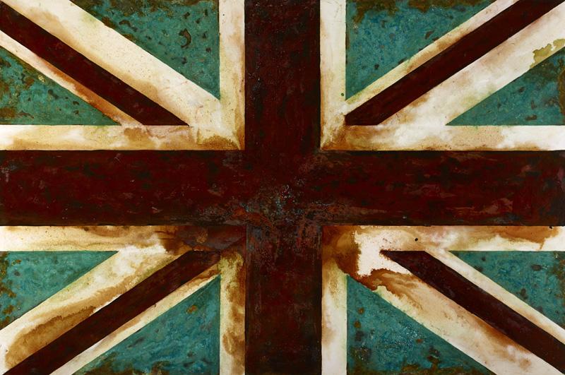 Diana - -mixed rust medium and acrylic on canvas 1.2m x 1.8m LR