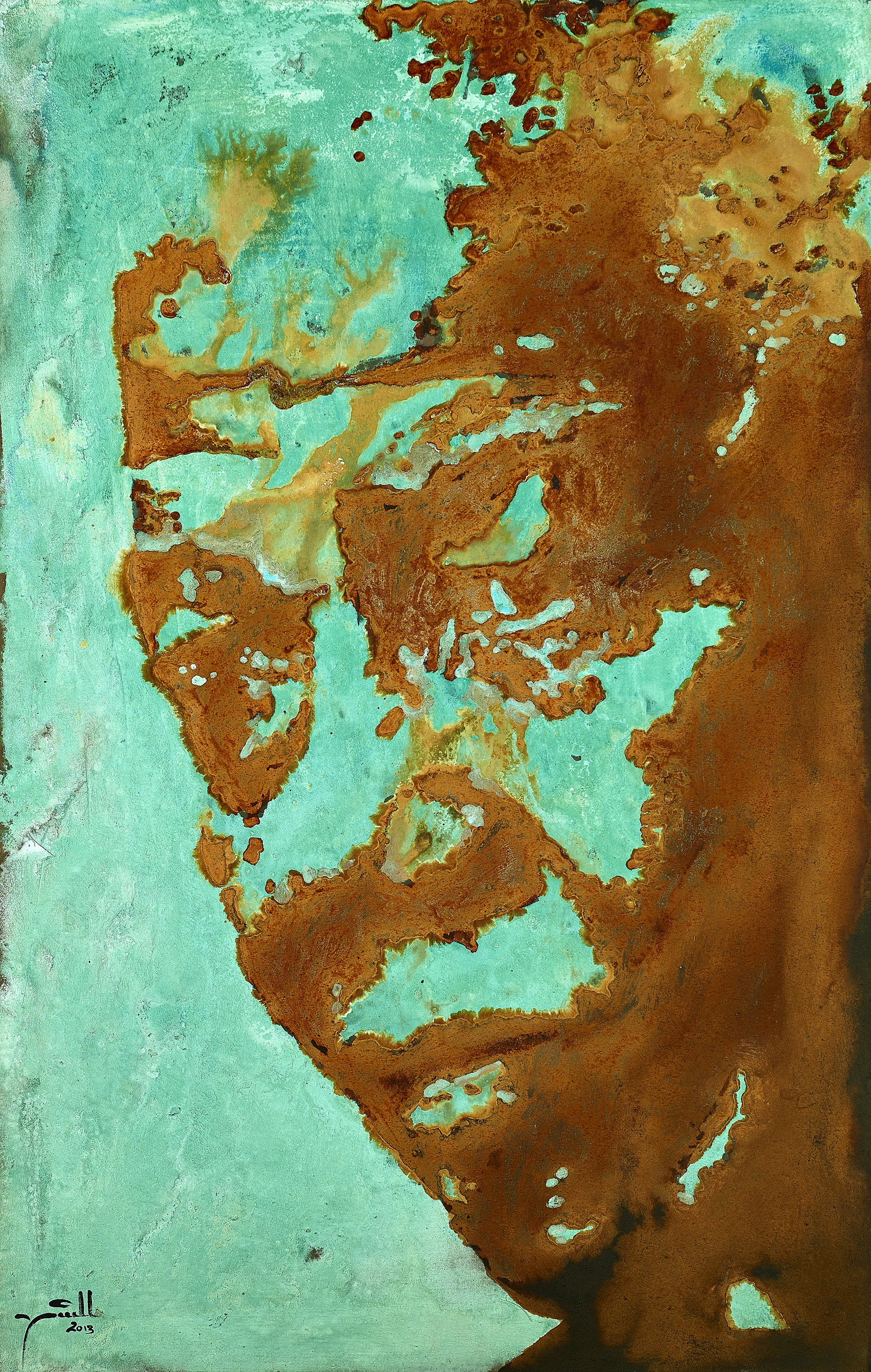 Madiba Rust 7 (The Mogan Freeman)