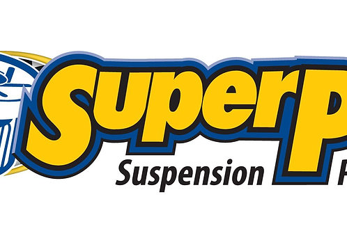 SuperPro Golf Mk5 04-08 ALL 2WD Lower control arm rear bracket kit - competition