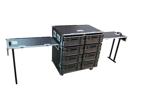 VMEP Small roll cabinet, 8 boxes