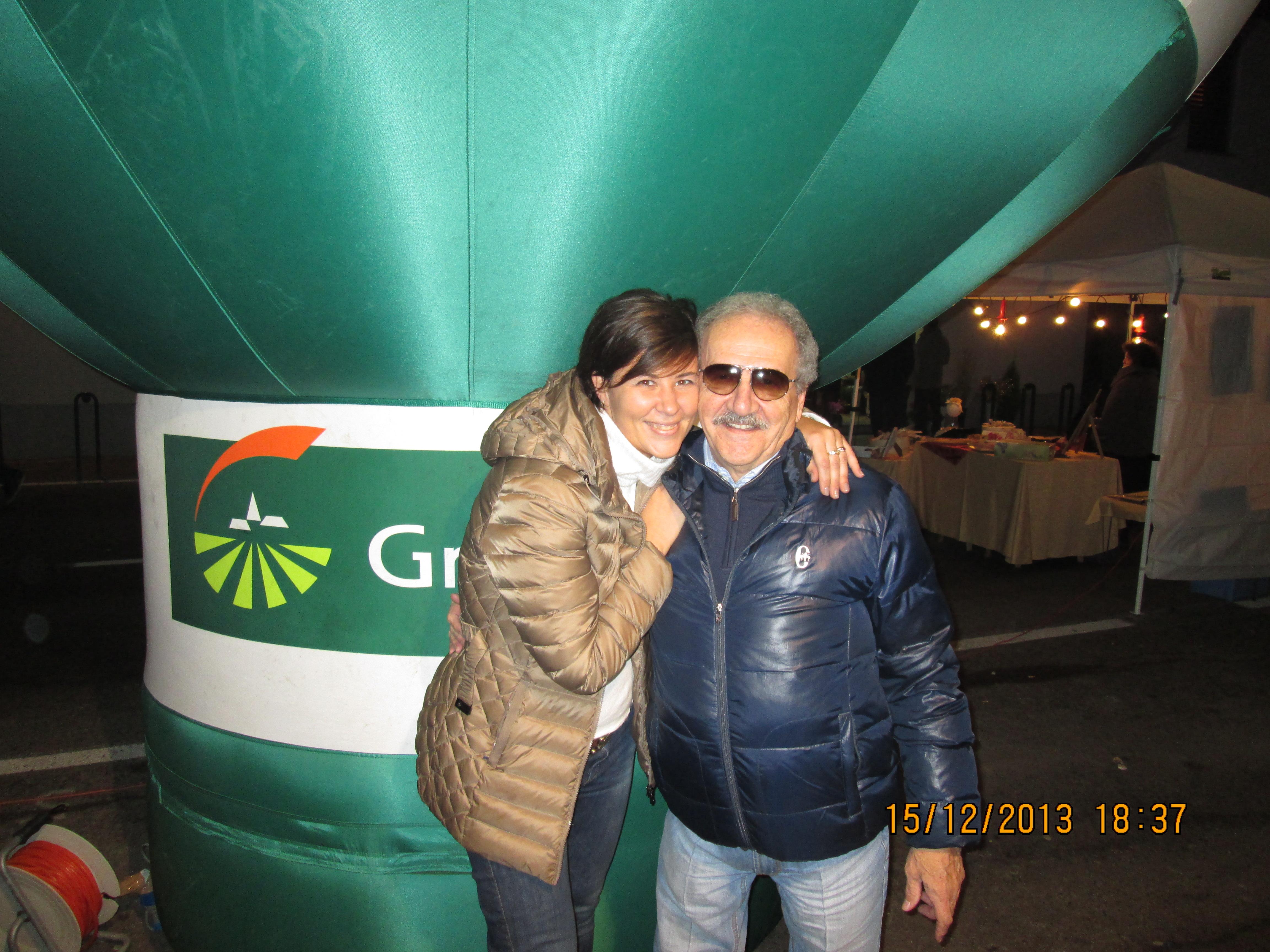 Sara e papà Silvio
