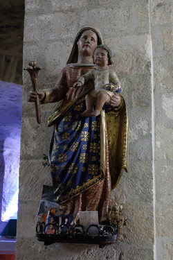 sculpture polychrome du XVIème