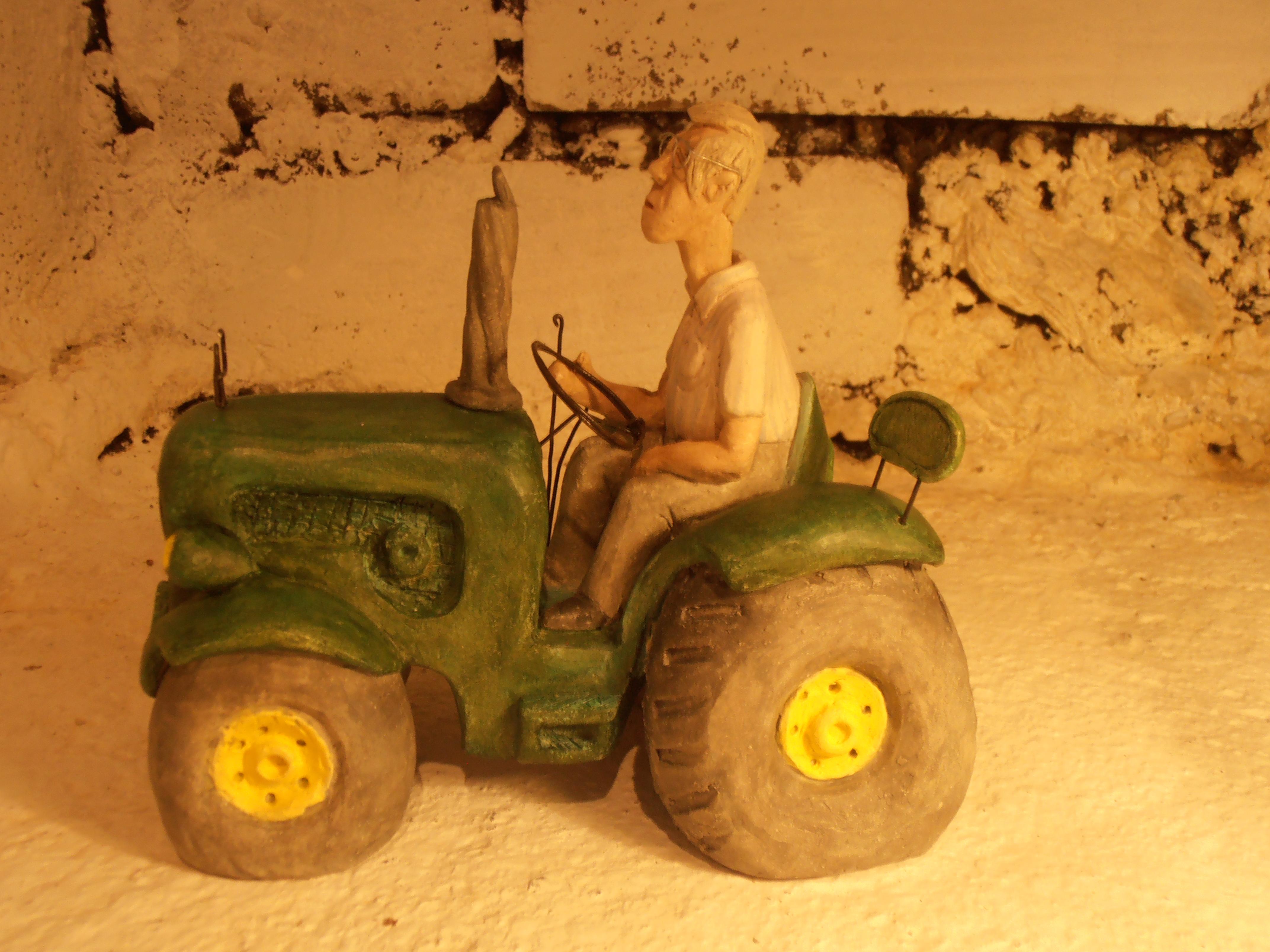 Tracteur sur commande